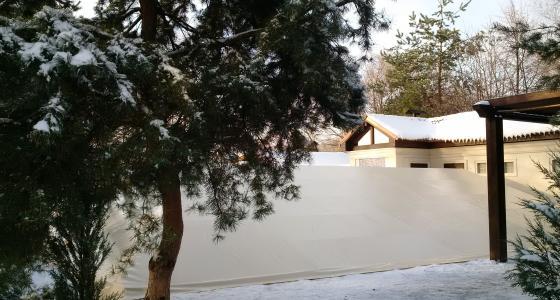 Зимние укрытия для бассейнов